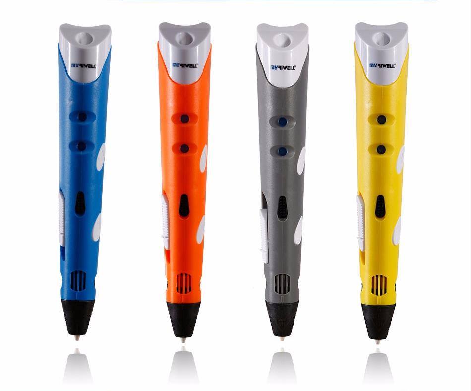 Варианты цвета 3D ручки Myriwell RP100a