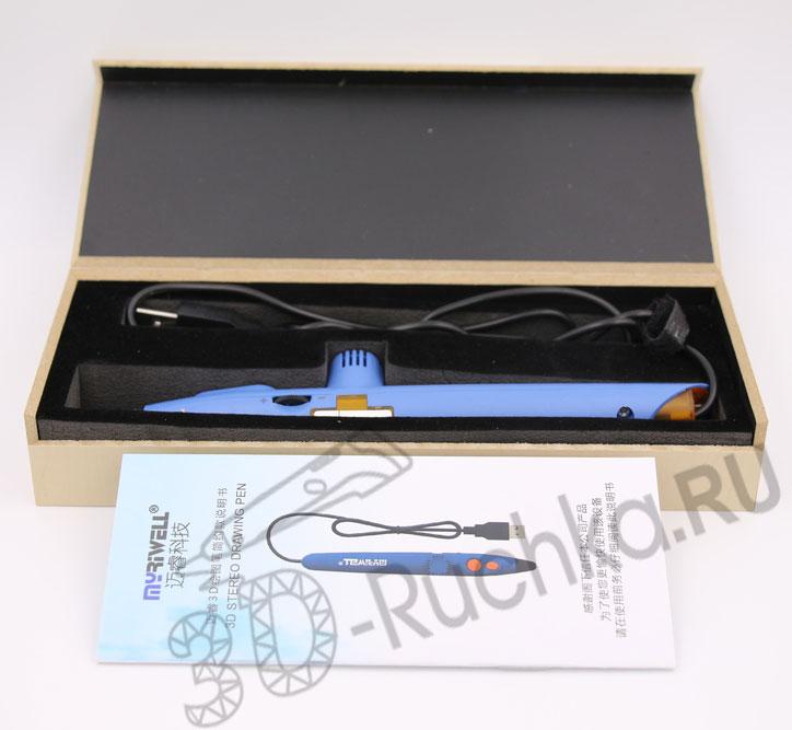 3D ручка Myriwell RP200A упаковка